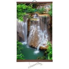 Инфракрасный обогреватель картина Водопад Джур Джур